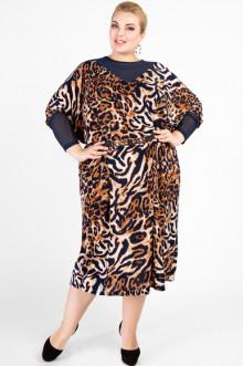 """Платье """"Артесса"""" PP04013LEO05 (Леопард)"""