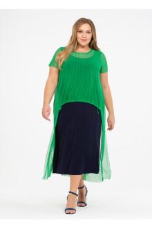 """Платье """"Её-стиль"""" 110200410 ЕЁ-стиль (Зелёный)"""