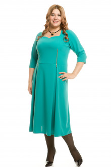 Платье 542 Luxury Plus (Прованс бирюза)