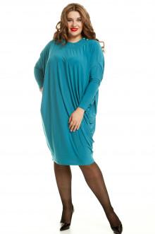 Платье 568 Luxury Plus (Бирюзовый)