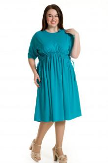 Платье 684 Luxury Plus (Бирюзовый)
