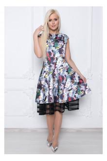 платье СЭМЮЭЛЬ цветочный орнамент
