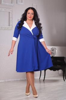 Платье 043302 ЛаТэ (Васильковый)