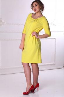 Платье 086407 ЛаТэ (Желтый)